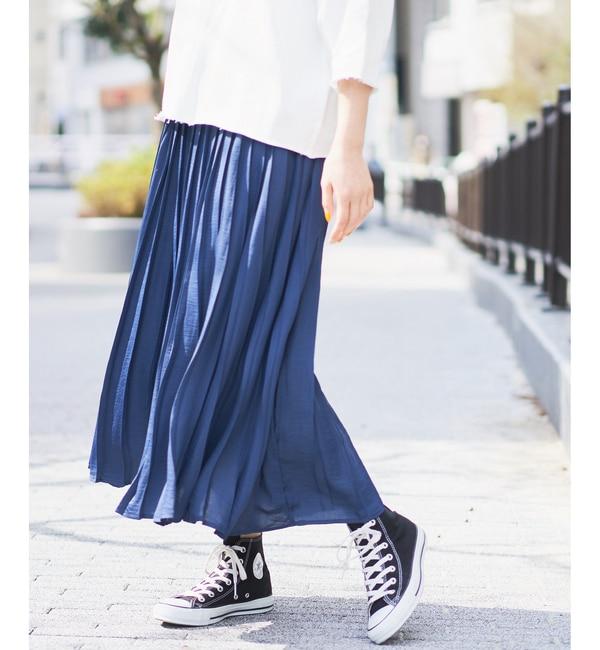 CIAOPANIC サテンプリーツスカート
