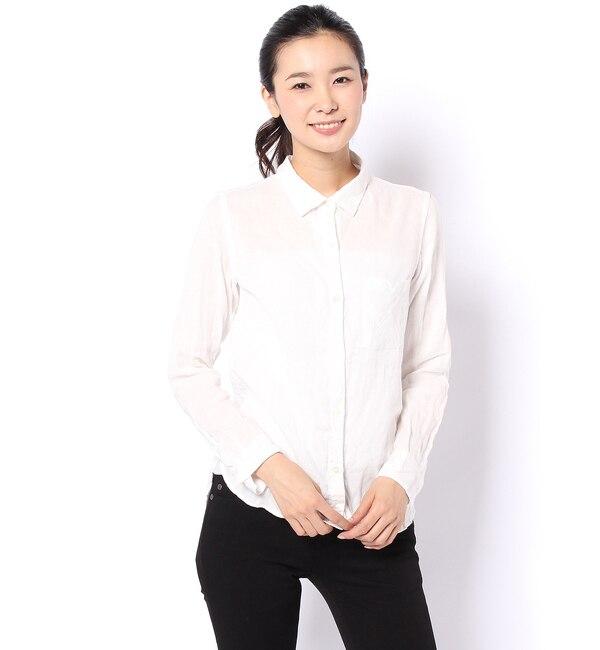【ラウンジドレス/Loungedress】 YANUKコットンシャツ [送料無料]