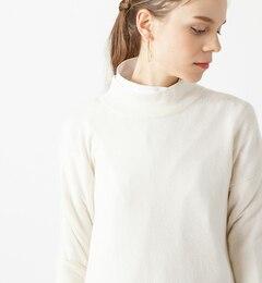 【ラウンジドレス/Loungedress】 【2点セット】ウールニット×ハイネックシャツ【グレーはWEB限定】 [送料無料]