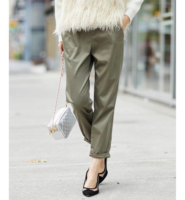 【ラウンジドレス/Loungedress】 【定番人気】裾ねじりパンツ