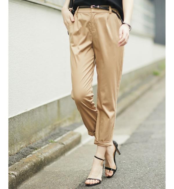 【ラウンジドレス/Loungedress】 裾ねじりパンツ