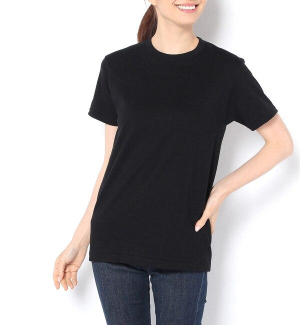 【ラウンジドレス/Loungedress】 【Hanes】クルーネックTシャツ