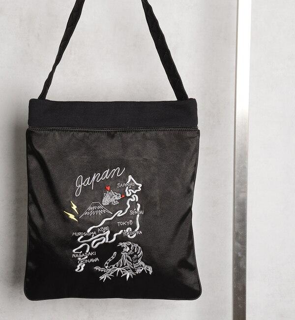 【フーズフーギャラリー/WHO'S WHO gallery】 【Casselini×WWG】コラボスカジャン刺繍トート [送料無料]