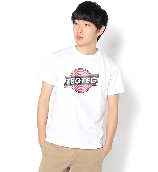 【フーズフーギャラリー/WHO'S WHO gallery】 TEGTEG_EXCLUSIVE_LOGO TEE