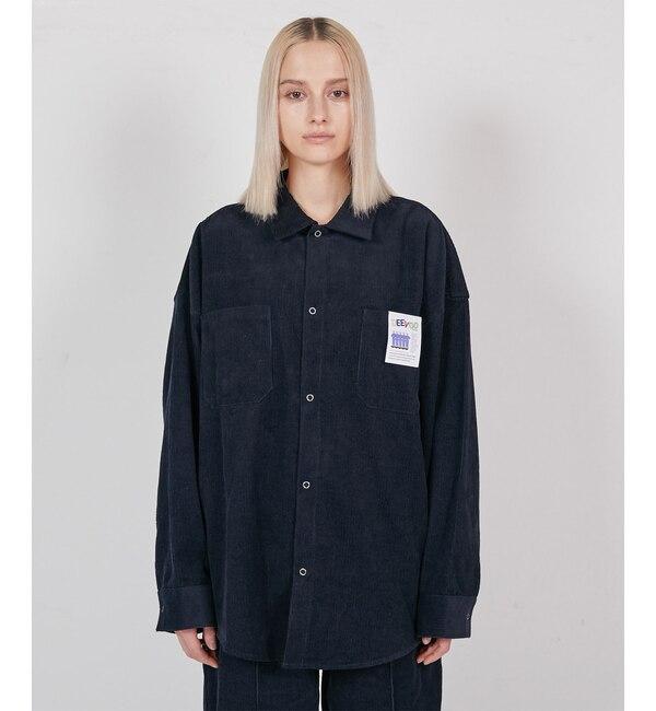 【フーズフーギャラリー/WHO'S WHO gallery】 【DEEVOO/ディーヴォ】セットアップリングシャツ