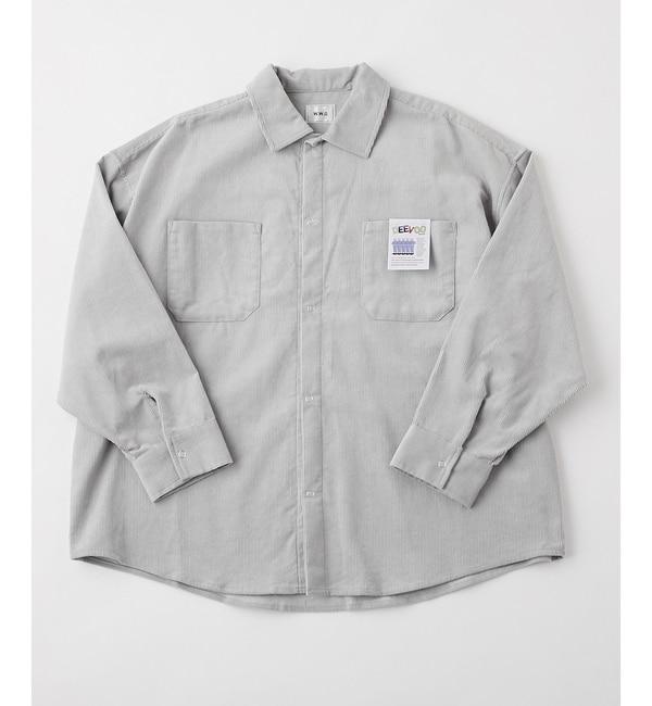 【フーズフーギャラリー/WHO'S WHO gallery】 DEEVOOコーデュロイセットアップリングドットシャツ