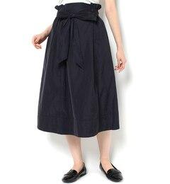 【ニーム/NIMES】 メモリータフタリボン付スカート [送料無料]