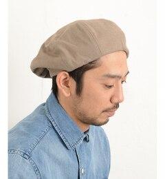 【チャオパニックティピー/CIAOPANICTYPY】リネンコットンベレー帽[3000円(税込)以上で送料無料]