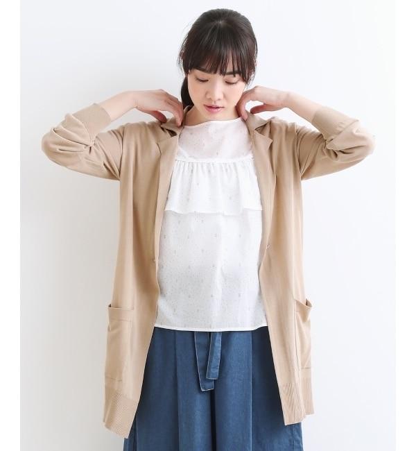 【ニーム/NIMES】 14Gコットンイタリー系テーラーコーディガン