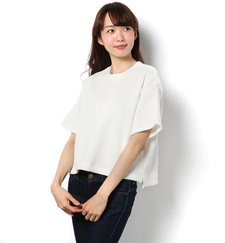【アパートバイローリーズ/apart by lowrys】 CワッフルTシャツ [3000円(税込)以上で送料無料]