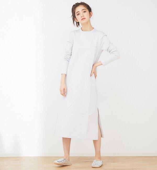 【コレックス/collex】 collex ハイツイストコットンワンピース
