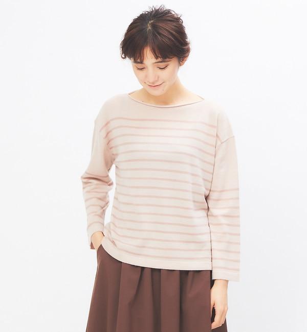 【コレックス/collex】 ボートネックプルオーバー