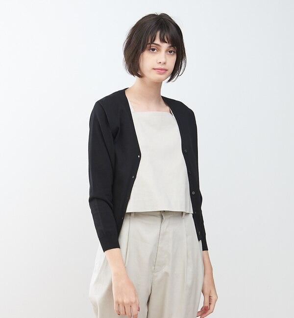 【コレックス/collex】 UVウォッシャブルカーディガン