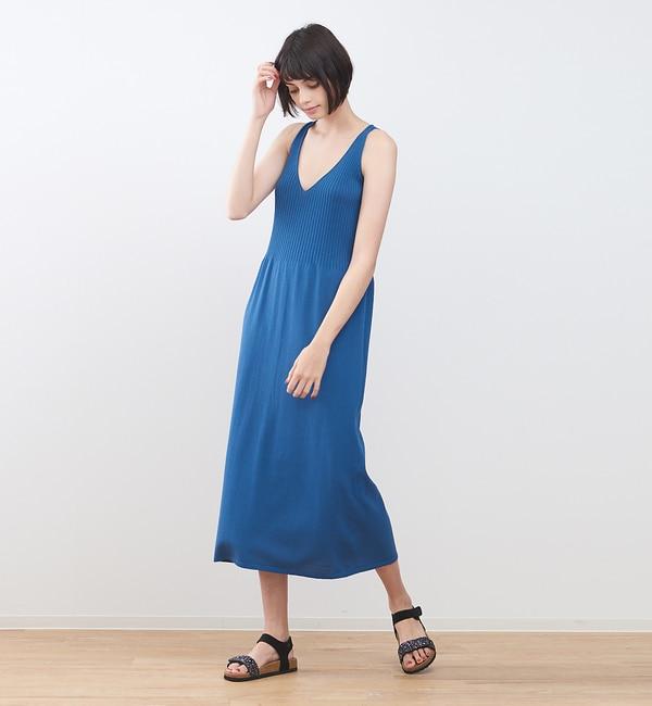 【コレックス/collex】 UVウォッシャブルタンクワンピース