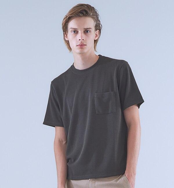【アバハウス/ABAHOUSE】 TR鹿の子ダブルフェイスTシャツ