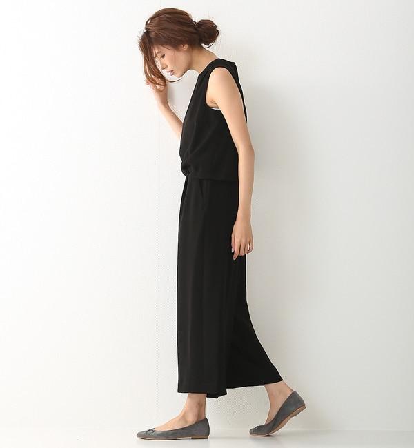 【ルージュ・ヴィフ ラクレ/Rouge vif la cle】 バックデザインオールインワン [送料無料]