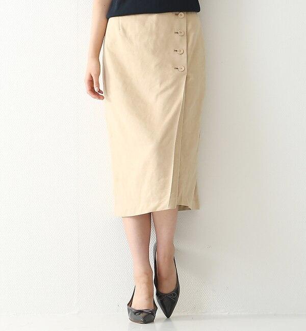 【ルージュ・ヴィフ ラクレ/Rouge vif la cle】 スエードスカート [送料無料]