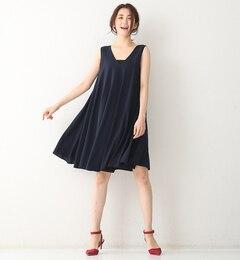 【ルージュ・ヴィフ ラクレ/Rouge vif la cle】 ノースリフレアーワンピ [送料無料]