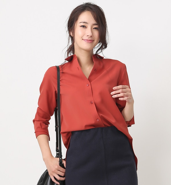 【ルージュ・ヴィフ ラクレ/Rouge vif la cle】 SET UPシャツ