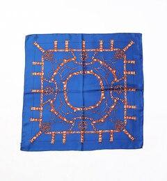 【ルージュ・ヴィフラクレ/Rougeviflacle】Manipuriプリントシルクスカーフ(65)1[送料無料]