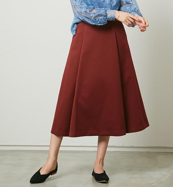 【ルージュ・ヴィフ ラクレ/Rouge vif la cle】 Portcros T/Cダブルクロススカート