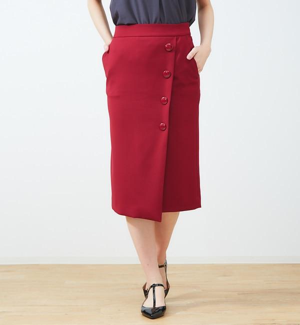 【ルージュ・ヴィフ ラクレ/Rouge vif la cle】 ラップタイスカート