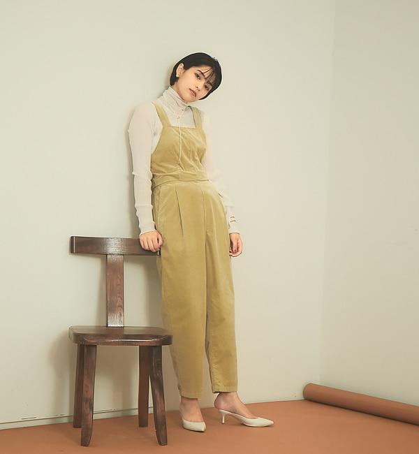 【WEB限定】コーデュロイ3WAYサロペット