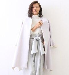 【カリテ/qualite】 ポンチョコート [送料無料]
