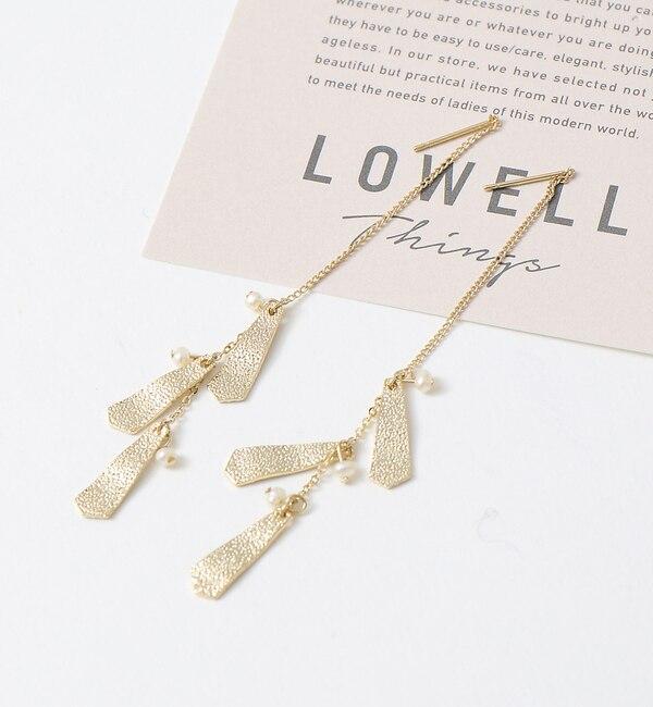 【ロウェル シングス/LOWELL Things】 スウィング3連ピアス [送料無料]