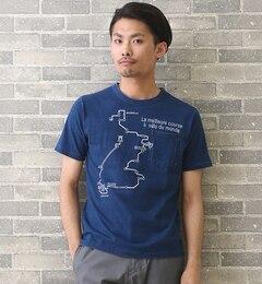 【マイセルフアバハウス/MYSELFABAHOUSE】ロードMAP-Tシャツ[送料無料]