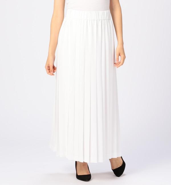 【ティアラ/TIARA】 La GRANDE COUTURIERE de TIARA ジョーゼットプリーツスカート