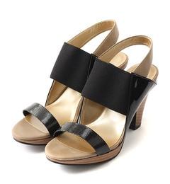 【アルカリ/alcali】 mie scarpe / 太ベルトサンダル [送料無料]