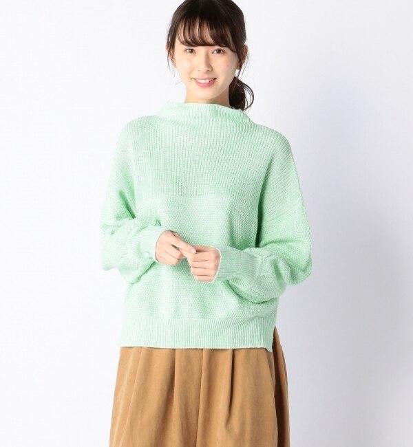 【アルカリ/alcali】 パフスリーブニット [送料無料]