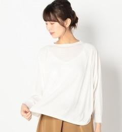 【アルカリ/alcali】 強撚アクリル ラウンドヘムセーター [送料無料]
