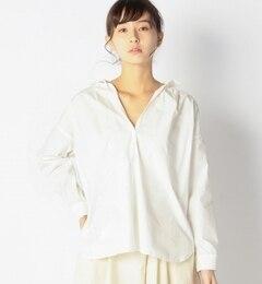 【アルカリ/alcali】 GIZA50ブロード プルオーバーブラウス [送料無料]