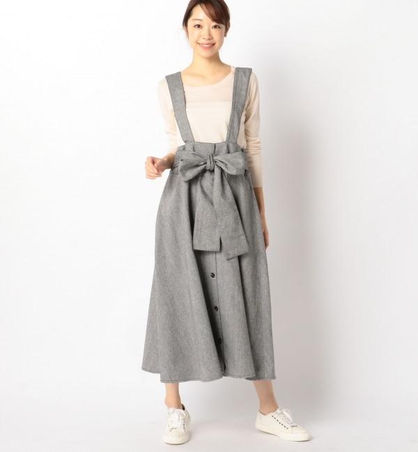 【アルカリ/alcali】 alcali/サス付きスカート