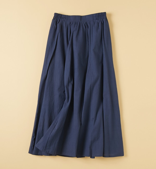 【アルカリ/alcali】 alcali/ロングフレアカラースカート
