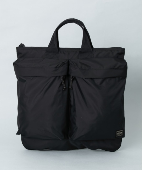 UR TRAVEL COUTURE by LOWERCASE ヘルメットバッグ【アーバンリサーチ/URBAN RESEARCH メンズ, レディス トートバッグ BLACK ルミネ LUMINE】