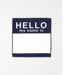 【アーバンリサーチ/URBAN RESEARCH】 Sonny Label SECOND LAB. HELLO HAND TOWEL [3000円(税込)以上で送料無料]