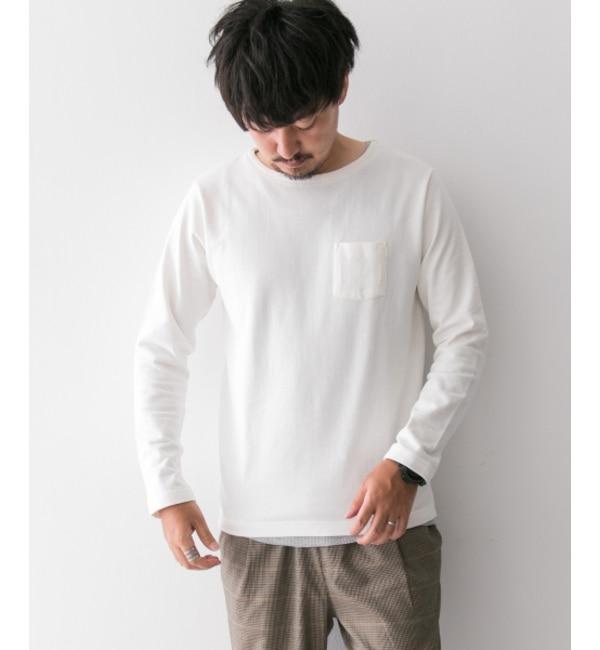 【アーバンリサーチ/URBAN RESEARCH】 Sonny Label ポケット付きロングTシャツ