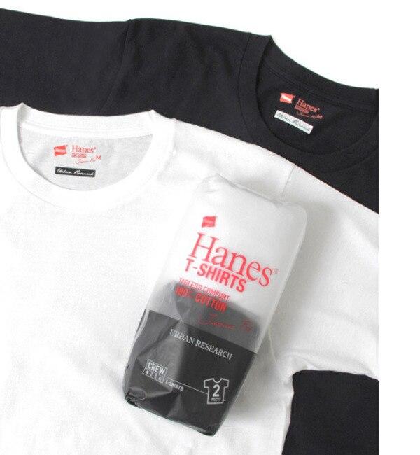 【アーバンリサーチ/URBAN RESEARCH】 UR Hanes Japan Fit 2P T-SHIRTS [3000円(税込)以上で送料無料]