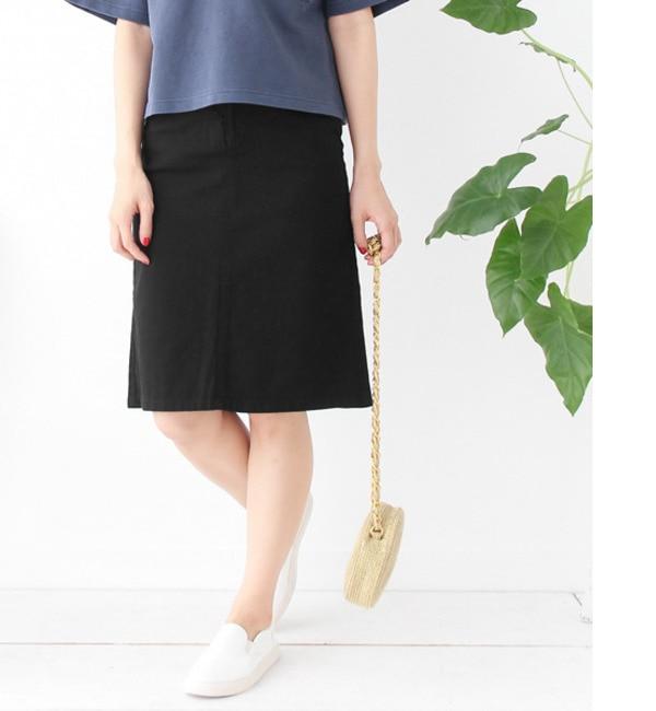 【アーバンリサーチ/URBAN RESEARCH】 DOORS コットンツイル5Pスカート [送料無料]