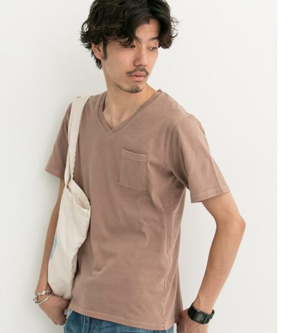 【アーバンリサーチ/URBAN RESEARCH】 Sonny Label ピグメントVネックTシャツ [3000円(税込)以上で送料無料]