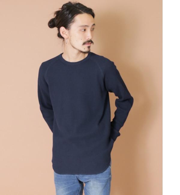 【アーバンリサーチ/URBAN RESEARCH】 UR クルーネック度詰めワッフルビックロングTシャツ [送料無料]