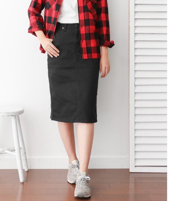 【アーバンリサーチ/URBAN RESEARCH】 DOORS Lee×DOORS-natural- Long Skirt [送料無料]