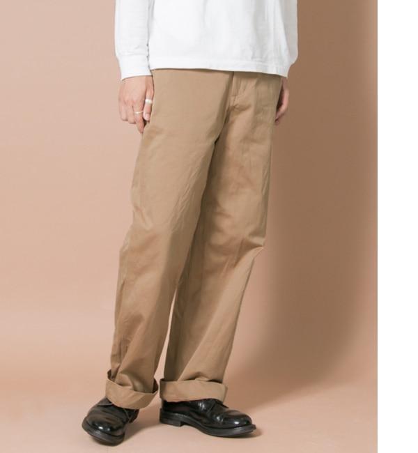 メンズファッションの一押し|【アーバンリサーチ/URBAN RESEARCH】 UR FREEMANS SPORTING CLUB JP VINTAGE WEAPON WIDE PANTS [送料無料]