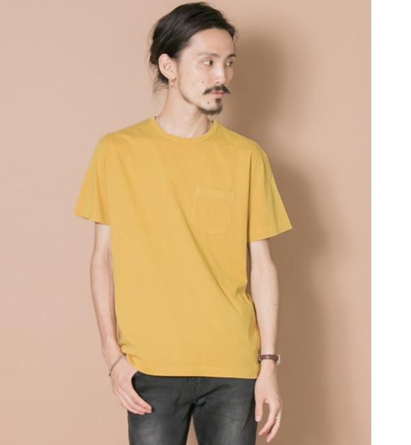 【アーバンリサーチ/URBAN RESEARCH】 UR 製品染めフェードカラーポケットTシャツ [3000円(税込)以上で送料無料]