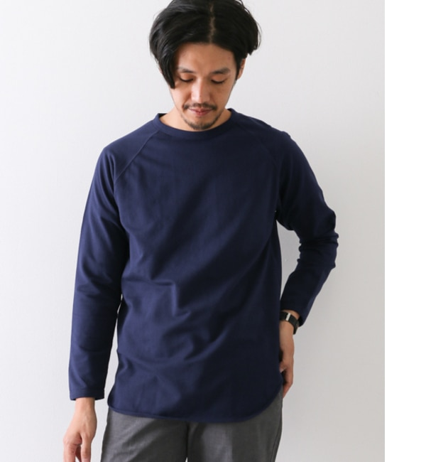 【アーバンリサーチ/URBAN RESEARCH】 DOORS Round Tail Crew Neck [送料無料]