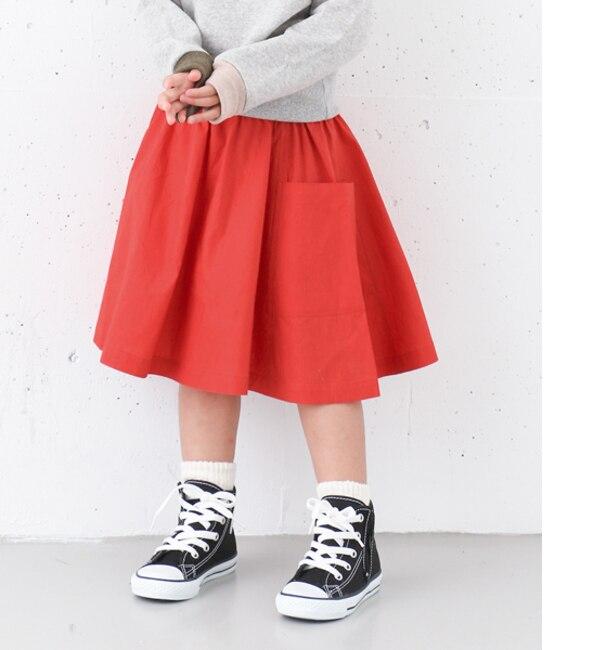 【アーバンリサーチ/URBAN RESEARCH】 DOORS タイプライターギャザースカート(KIDS) [送料無料]