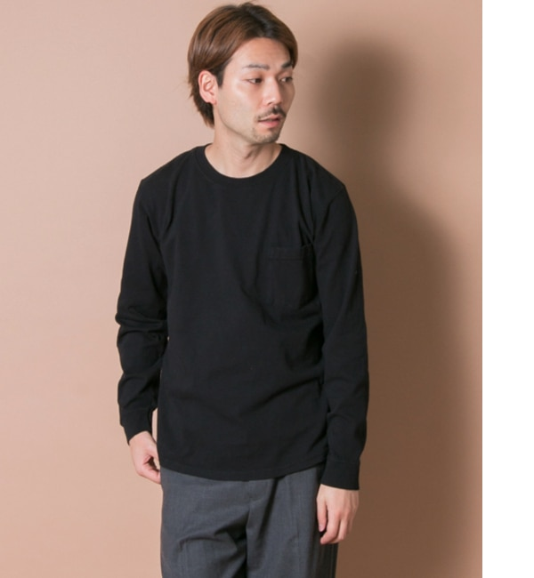 【アーバンリサーチ/URBAN RESEARCH】 UR Goodwear×UR CREWNECK POCKET LONG-SLEEVE T-SHIRTS [送料無料]